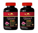 Product review for metabolism pills - Echinacea & Goldenseal Root 300MG - goldenseal no alcohol - 2 Bottles (120 Capsules)