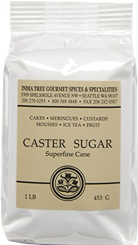 (India Tree Caster Sugar, 1 Pound (Pack of 6))