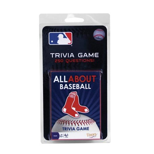 Sox Mlb Baseball Cards (Boston Red Sox All About Trivia Card)