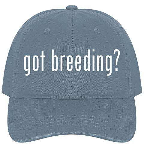 The Town Butler got breeding? - A Nice Comfortable Adjustable Dad Hat Cap, Light Blue