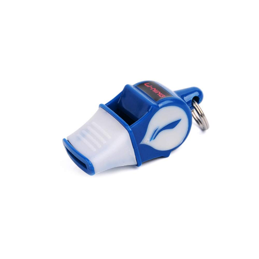 XIMINGJIA Emergency Whistle, Referee Training Whistle, Outdoor Emergency Whistle, Survival Whistle, Plastic Whistle, Four Colors to Choose from. (Color : Blue) by XIMINGJIA