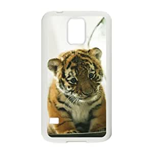 Tiger ZLB577141 Personalized Phone Case for SamSung Galaxy S5 I9600, SamSung Galaxy S5 I9600 Case