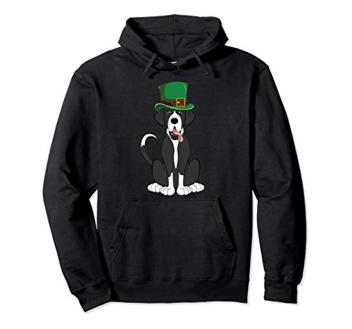 - Mantle Great Dane St. Patricks Day Hoodie Dog