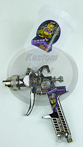 Lil' Daddy Roth Metal Flake HVLP Spray Gun - Loose Cannon - 3.0mm Tip by Lil' Daddy Roth (Image #1)