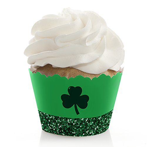 St. Patrick's Day - Saint Patty's Day Party Decorations - Party Cupcake Wrappers - Set of 12