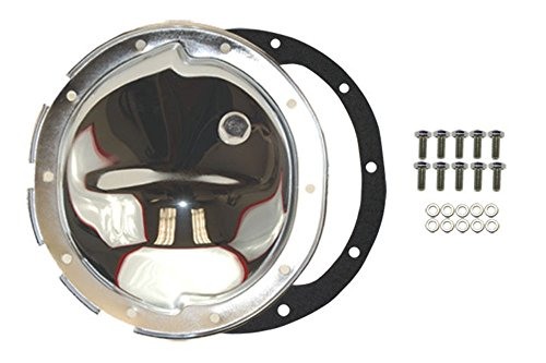 Chrome Steel Chevy GM 10 Bolt Differential Cover For 8.5 Inch Ring Gear (Steel Differential Cover)