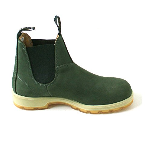 Blundstone, Scarpe da barca uomo verde verde Verde