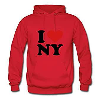 Best Lynsnyd Red Different I Love Ny Hoody X-large Women