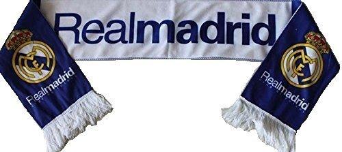 (Real Madrid FC 2014 Blue & White Fan Scarf)