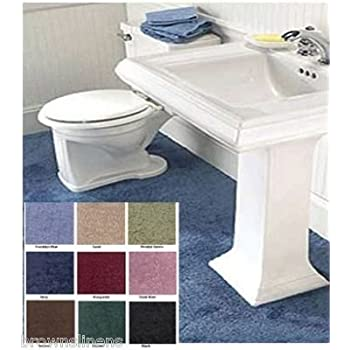 Charmant WALL TO WALL BATHROOM CARPET, 5u0027 X 6u0027 BROWN
