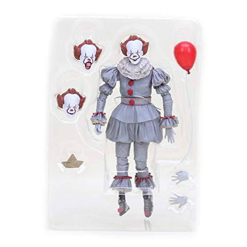 PLAYER-C Movie Stephen Kings It Pennywise Joker Clown Action Figure Toys Cosplay Horror Dolls Halloween -