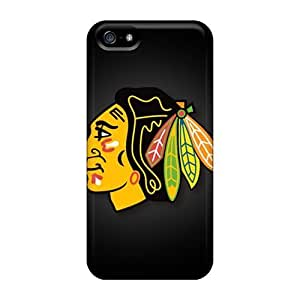 For SamSung Galaxy S6 Phone Case Cover Protective Cases, Custom Chicago Blackhawks Design