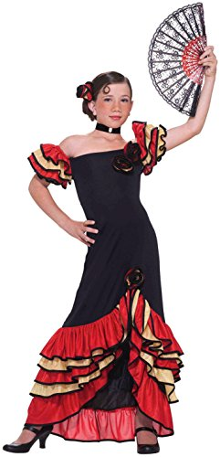 Forum Novelties Flamenco Girl Child's Costume, -