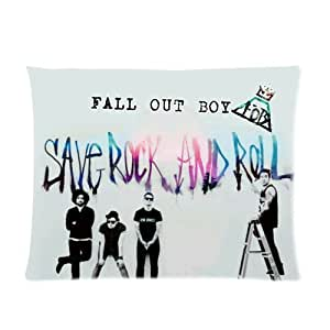 Generic Personalized Chicago Rock Band Fall Out Boy Fob Graffiti Style Sold By Too Amazing Pillowcase 20x26 inches (one side)