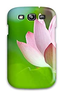 High Quality ZippyDoritEduard Lotus Flower Skin Case Cover Specially Designed For Galaxy - S3