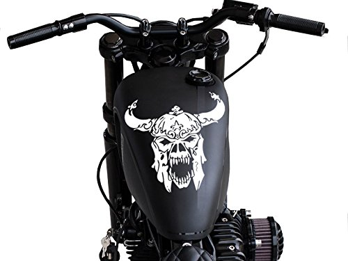 FGD Motorcycle Viking Skull Gas Tank Decal. 11