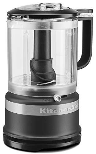 KitchenAid KFC0516BM 5 Cup Whisking Accessory Food Chopper, Black Matte