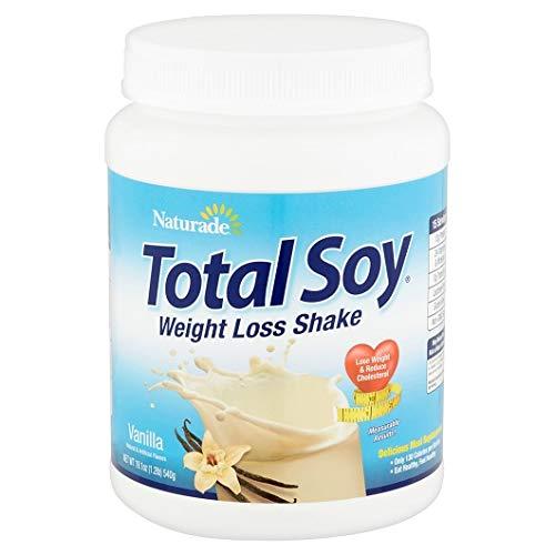 Naturade, Total Soy, Weight Loss Shake, Vanilla, 2 Pack (19.1 oz (540 g))
