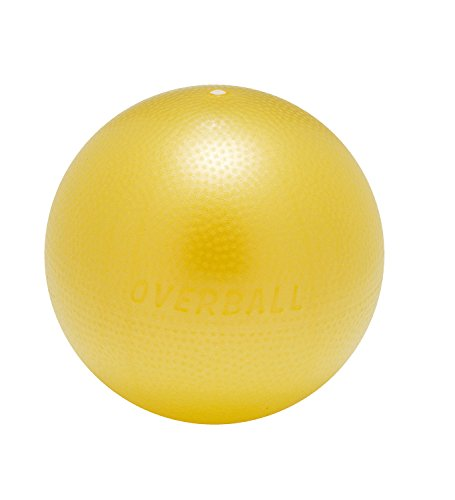 Exercise Therapy Ball (Sportime OverBall Exercise and Therapy Ball, Small, 10 Inches, colors may vary)