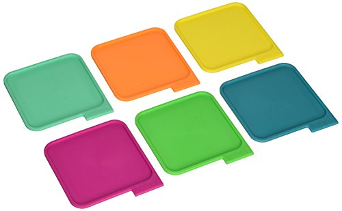 Houdini Coasters (Set of 6, Assorted Colors)
