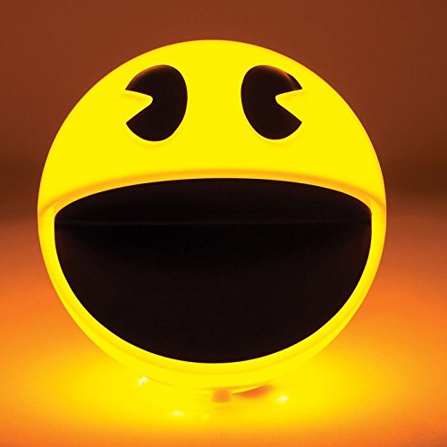 Pac-Man Chip LED Corded Lamp with Sound Bites and Remote Control Paladone PML