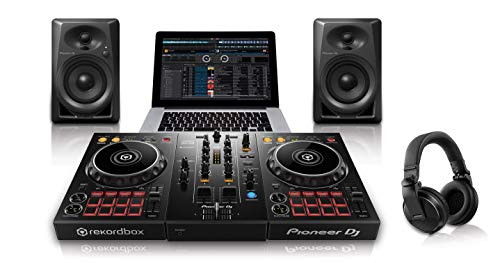Pioneer Pro DJ DJ Package (PKSTP03) (Best Beginner Dj Headphones)