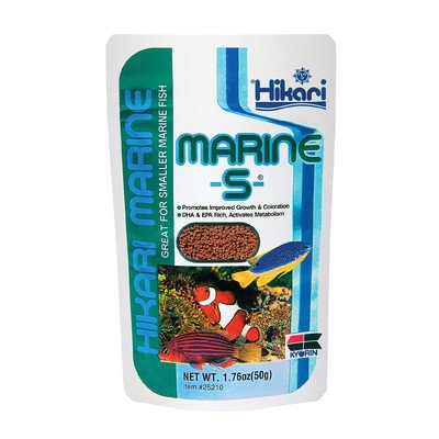 Marine Hikari Sales - Marine S Pellet Fish Food (1.76 oz.) [Set of 2]