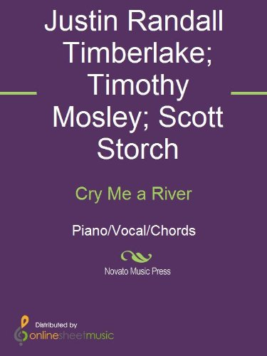 Cry Me a River - Kindle edition by Justin Timberlake, Scott Storch ...