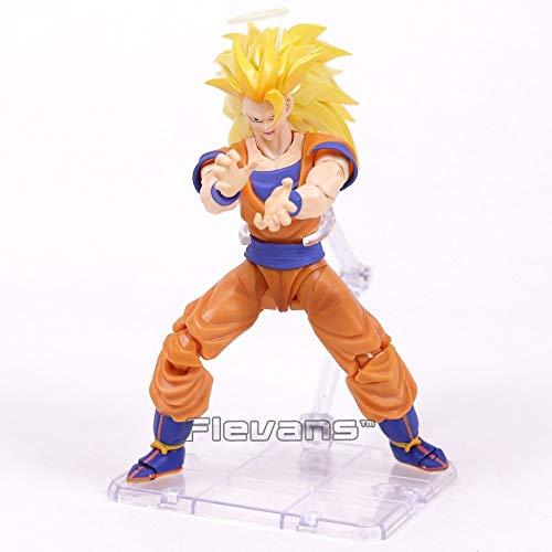 SHF S.H.Figuarts Dragon Ball Z Super Saiyan 3 Son Goku PVC Action Figure NEW