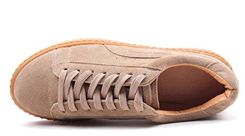 XDGG brown di sandali scarpe light 39 testa spessi rotonde donne Scarpe nuovo Sport delle svago fHfUdq
