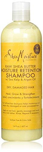 SheaMoisture Raw Shea Butter Moisture Retention Shampoo, 16 Ounce