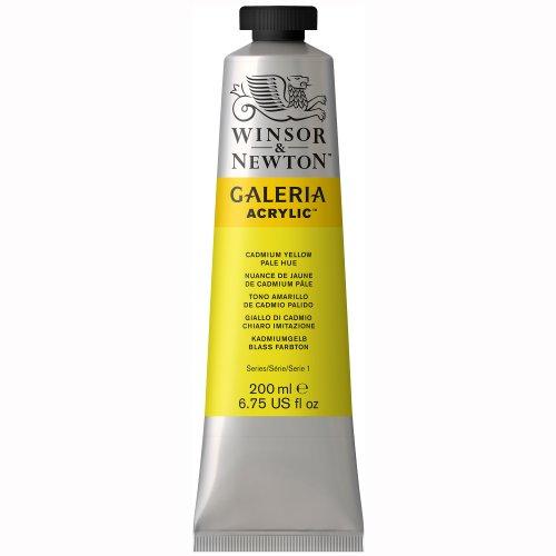Winsor & Newton Galeria Acrylics - Cadmium Yellow Pale Hue - 200ml Tube