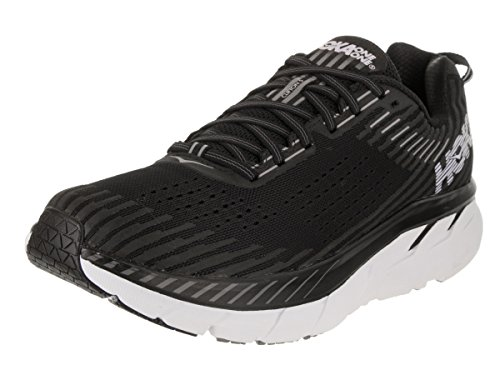 Hoka Hombre Entrenadores One Clifton 5 White Black One Textile Synthetic rcP4qBrwF