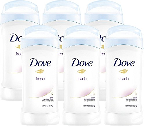 Dove Invisible Solids, Antiperspirant Deodorant, 2.6 Ounce Stick (Pack of - Online Ax Men Free