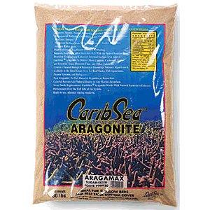 CaribSea Aquatics Aragamax Select Aquarium Sand, 15-Pound (Aragamax Sand)