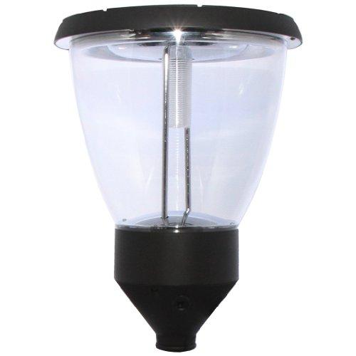 Lamp Balmoral (PL14 Solar 'Balmoral' Post / Pole Top Light (Single Lampshade))