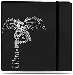 Lively Moments - Carpeta para Tarjetas de coleccionismo (ultraperforada, 480 Compartimentos), diseño de dragón, Color Negro Tarjetas Force of Will.