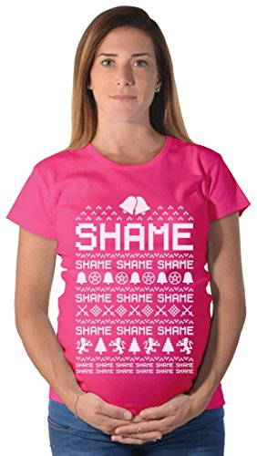 Cersei Walk of SHAME - Funny Ugly Christmas Maternity Shirt