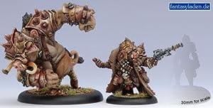 Privateer Press - Hordes - Minion: Lesser Warlock Rorsh & Brine Model Kit