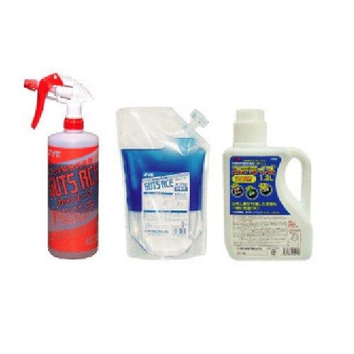 鈴木油脂 業務用洗濯洗剤 GSセット (ガッツエース本体1+詰替用1+ステライズ1) B00KFHY6CQ