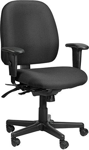 49802ABLK Multi function Chair, Black (Eurotech Multifunction Task Chairs)
