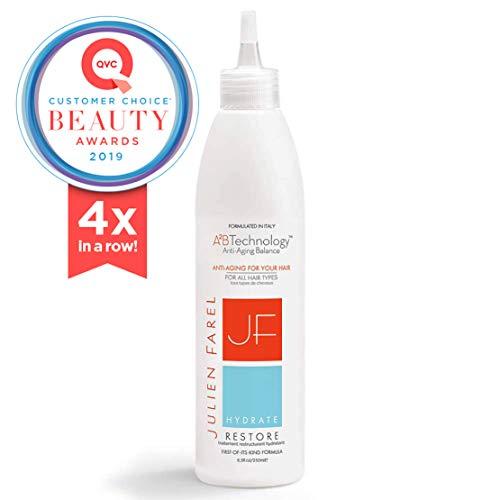 Julien Farel Hydrate Restore Hair & Scalp Treatment | 8.5 Fl Oz | - SLS & Paraben Free - Best for Dry, Thin, Delicate, Fine Hair, | Add Volume, Moisturize, Replenish |