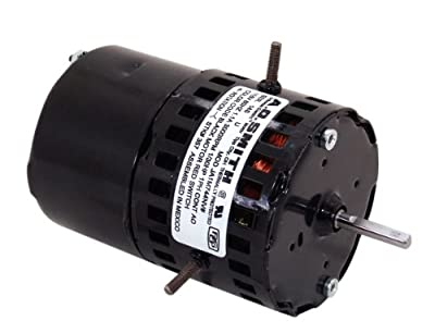 A.O. Smith 357 3.3-Inch 1/30 HP, 3000 RPM, 1.1 Amps, OAO Enclosure, CWSE Rotation, 1/4-Inch by 1-1/2-Inch Shaft Diameter Draft Inducer Motor