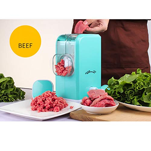 Tenta Kitchen Meat Grinder,Stainless Steel Plate,Powerful Suction Base,Fast and Effortless for All Meats,Fats,Nuts,Cookies,Cooked Food,perfect for making burgers and Sausage ...