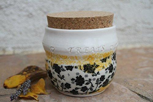 Candy Treat Jar handmade pottery (French Candy Jar)