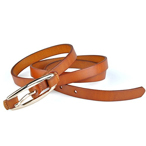 Fashion Skinny Leather Buckle Adjustable