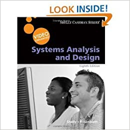 Systems Analysis And Design Video Enhanced Shelly Cashman 8th Eighth Edition Gary B Shelly 8582002888883 Amazon Com Books