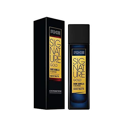 AXE Signature Gold Dark Vanilla and Oud Wood Perfume, 80ml/65 g