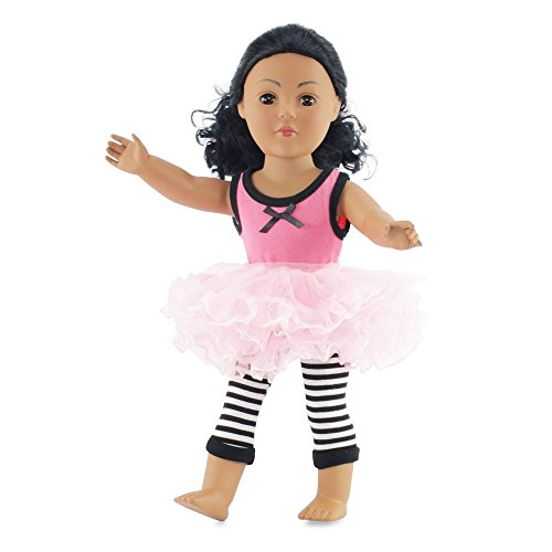 Have Fun Outfit - 18 Inch Doll Clothes/clothing Fits American Girl Dolls - Includes 18 Accessories