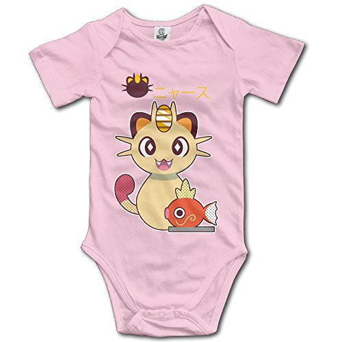 Baby's Cute Meowth Magikarp